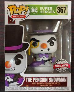 DC Comics - Pop! - Xmas Holiday The Penguin Snowman n°367 exclusive