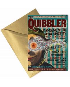 Harry Potter - Carte de voeux métallisée The Quibbler