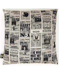 Harry Potter - Housse de coussin Daily Prophet 40 x 40 cm
