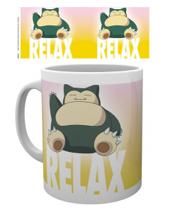 Pokemon - mug Ronflex Relax