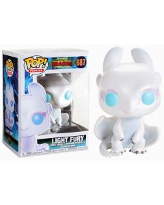 How To Train Your Dragon 3 - Dragons - Pop! - Light Fury n°687