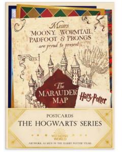 Harry Potter - Set de 20 cartes postales Hogwarts