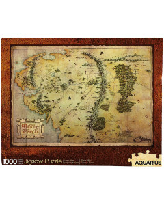 Lord of the Rings - Puzzle Carte (1000 pièces)