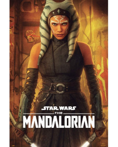Star Wars : The Mandalorian - Grand poster Ahsoka Tano (61 x 91,5 cm)