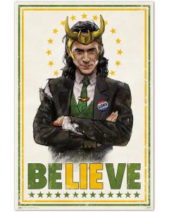 Marvel - Grand poster Loki (61 x 91,5 cm)