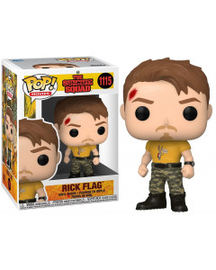 The Suicide Squad - Pop! - Rick Flag n°1115