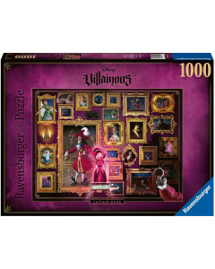 Disney - Puzzle 1000 pièces Villains : Crochet (Captain Hook)