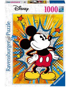 Disney - Puzzle 1000 pièces Mickey Retro
