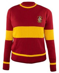 Harry Potter - Pull de Quidditch Gryffondor