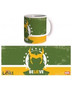 Marvel Studios : Loki - Mug Believe