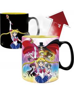 Sailor Moon - Mug thermo-réactif Groupe