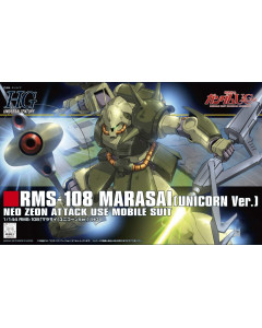Gundam - HGUC 1/144 RMS-108 Marasai (Unicorn Ver.)