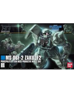 Gundam - HGUC 1/144 MS-06F-2 Zaku II Type F2 (Zeon Ver.)