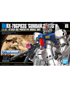 Gundam - HGUC 1/144 RX-78 GP03S Gundam GP03 Stamen