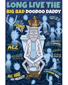 Rick and Morty - Grand poster Doodoo Daddy (61 x 91,5 cm)