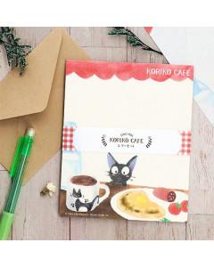 Kiki la petite Sorcière - Set papier à lettres Kiriko Café 16 x 13 cm