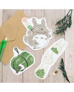 Mon Voisin Totoro - Set papier à lettres à découper bonbons japonais