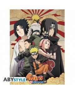 Naruto Shippuden - poster Groupe 2