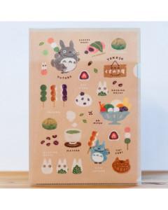Mon Voisin Totoro - Chemise A4 Pâtisseries