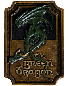 Lord of the Rings - Aimant The Green Dragon