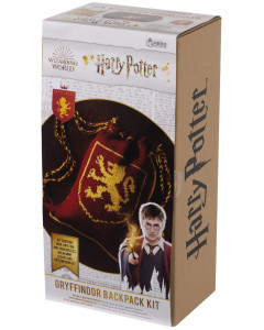 Harry Potter - Kit tricot Sac Gryffindor (instructions en anglais)