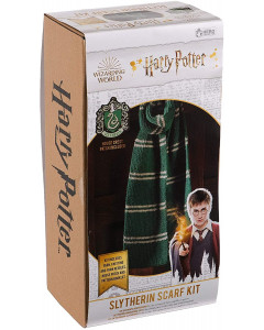 Harry Potter - Kit tricot écharpe Slytherin (instructions en anglais)