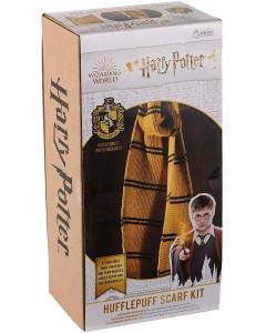 Harry Potter - Kit tricot écharpe Hufflepuff (instructions en anglais)