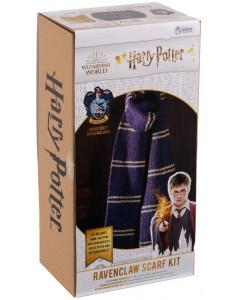 Harry Potter - Kit tricot écharpe Ravenclaw (instructions en anglais)