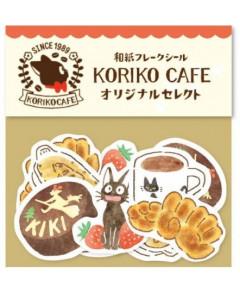 Kiki la petite Sorcière - Set d'autocollants Kiriko Café