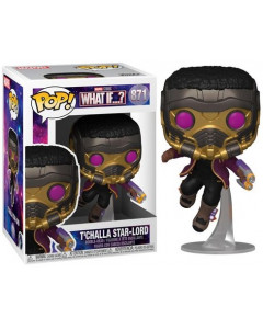 Marvel Studios : What If ? - Pop! - T'Challa Star-Lord n°871