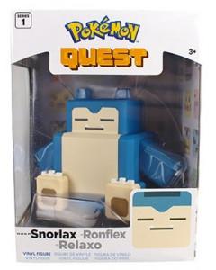 Pokemon Quest - Figurine 10 cm Pixel Art : Ronflex