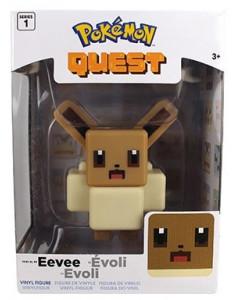 Pokemon Quest - Figurine 10 cm Pixel Art : Evoli
