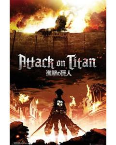 Attack on Titan - grand poster Key Art (61 x 91,5 cm)