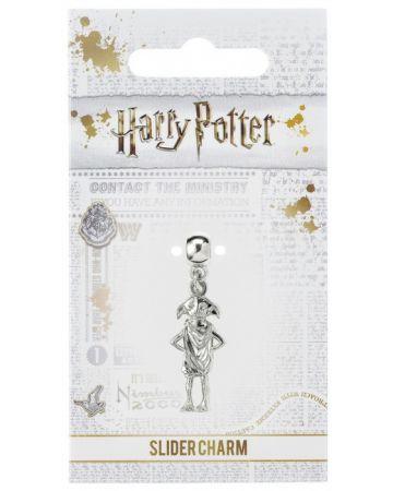 Harry Potter - Breloque plaqué argent Dobby