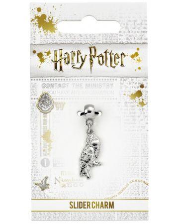 Harry Potter - Breloque plaqué argent Hedwige