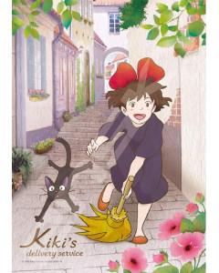 Kiki la petite Sorcière - Puzzle Vitrail 208 pièces Au départ