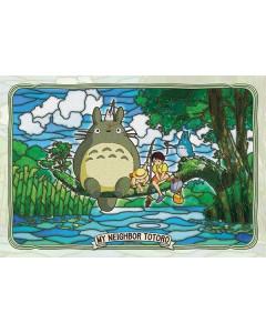 Mon Voisin Totoro - Puzzle Vitrail 300 pièces Pêche