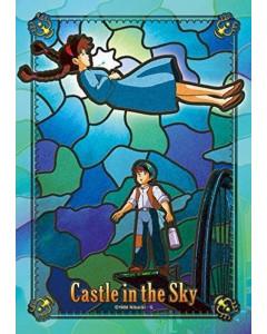 Le Château dans le Ciel (Laputa Castle in the Sky) - Puzzle vitrail 208 pièces