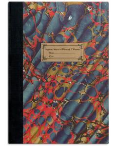 Harry Potter - Carnet réplique du cahier d'exercice d'Hermione