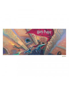 Harry Potter - Affiche lithographie Chamber of Secrets Book Cover 42 x 30 cm