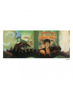 Harry Potter - Affiche lithographie Goblet of Fire Book Cover 42 x 30 cm