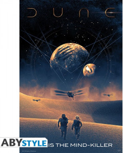 Dune - Grand poster Fear is The Mind Killer (61 x 91,5 cm)