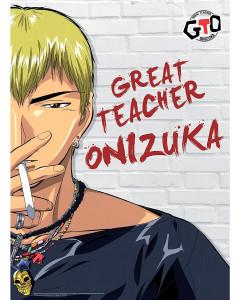 GTO - poster Onizuka (52 x 38 cm)
