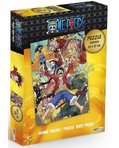 One Piece - Puzzle 1000 pièces Equipage de Luffy