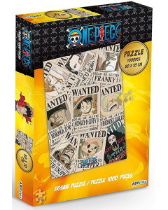One Piece - Puzzle 1000 pièces Wanted