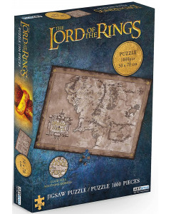 Lord of the Rings - Puzzle 1000 pièces Middle-earth