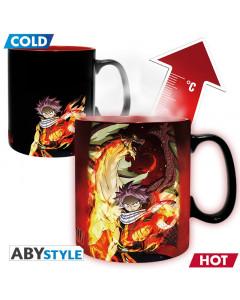 Fairy Tail - Mug thermo-réactif Natsu & Lucy