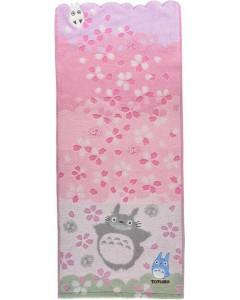 Mon voisin Totoro - Serviette Cerisiers 34 x 80 cm