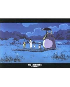 Mon Voisin Totoro - Chemise dossier A4 Dans la nuit