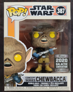 Star Wars - Pop! Concept Series - Chewbacca n°387